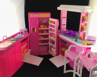 1992 Mattel Barbie Kitchen Playset by Arco/Mattel (partially complete)
