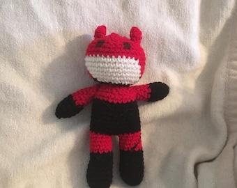 Crocheted Daredevil Doll