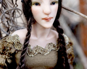 Briza Faun Girl - Art Doll - Ooak - Nigrica Art Doll