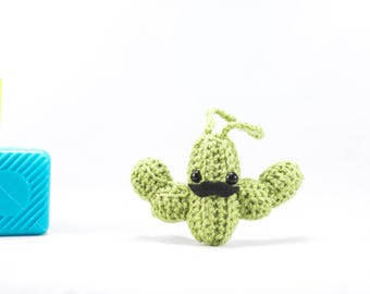 Crochet Succulent, crochet cactus, mini cactus, succulent gift, crochet cactus, cactus decoration, car accessory, car buddy, stuffed cactus