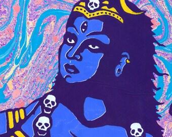 "Goddess Kali Ma 8.5""x11"" Giclee Print"