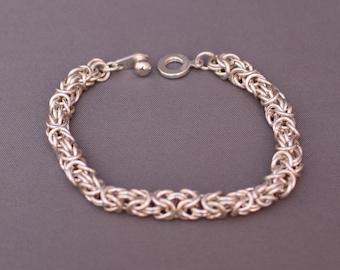 Byzantine Chain Maille Bracelet