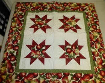 Quilted Reversible Tablecloth
