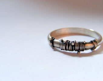 SALE!!! 65 dolar!! (was 80) delicate and beautiful (: ethnic ring, tribal ring, boho ring, silver ring, ellegant ring, 925 silver ring