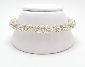 Tryzantine Bracelet in Sterling Silver