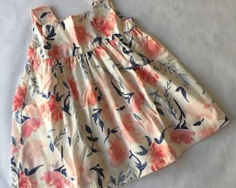 SALE Ready to Ship 2T Flower Girl Dress. Little Girl Dress. Girl's Sun Dress. Girls Dress. Suzanne's Garden.