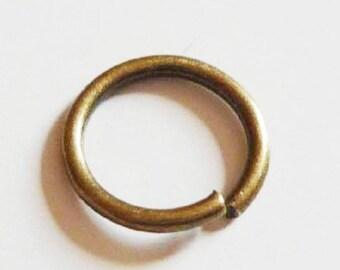 100 x ring bronze 4mm - ringed bronze