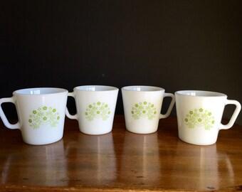 Pyrex Coffee Mugs / Pyrex Cups Summertime