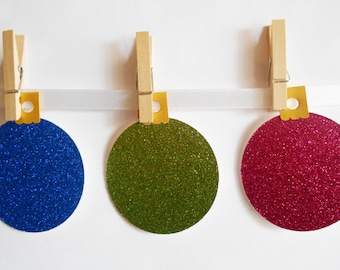 Christmas Baubles (Pack of 6)