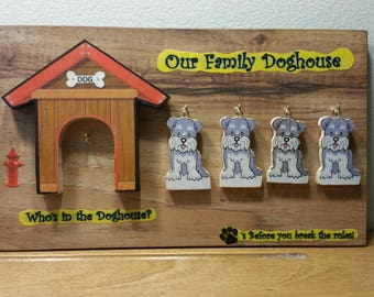 Who's in the Doghouse? <> A Blast from the Past <> Deluxe Wall Plaque<>Made in the USA<>FREE USA Shipping