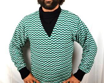 Vintage K2 Ski Lodge Wool 80s 1980s Rad Sweater