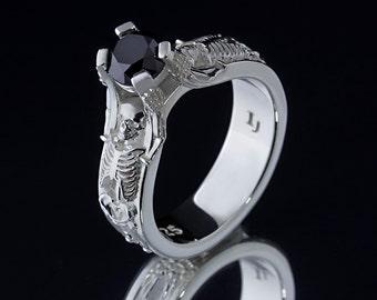 The Skeleton Ring - .925 Sterling Silver