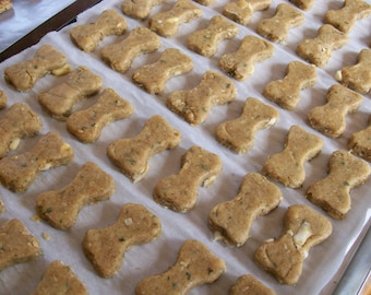 Apples 'n Peanut Butter Dog Treats Cookies One Pound Bag