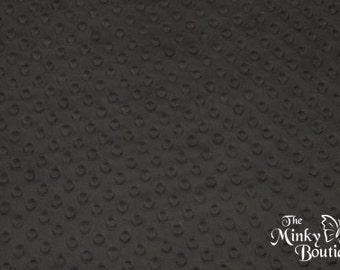 Minky Dot Fabric - Ash - from Shannon Fabrics