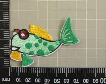 Iron On Patches Fish Applique