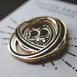 PRECO-Harry Potter Time Turner émail dur Pin