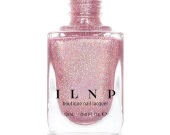 Ballet Slipper - Soft Pink Holographic Nail Polish