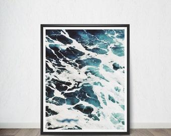 Ocean Digital Print, Art Print, Digital Art, Digital Art Print, Digital Artworks, Digital Print Art, Digital Art Download