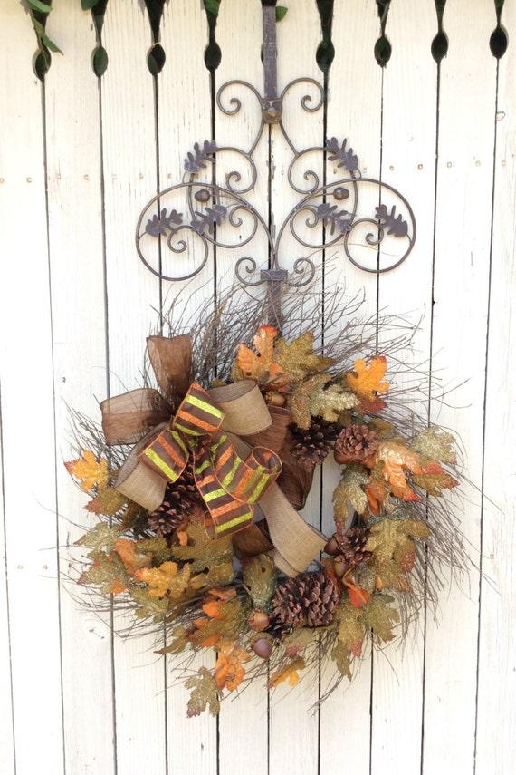 Charmant Wreath Hanger, Wreath Holder, Wreath Hook, Hanger For Wreaths, Metal Wreath  Hanger, Door Wreath Hanger, Metal Door Hanger, Long Door Hook From Keleas  On ...