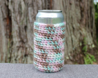 Crochet Can Cozy; Crochet Can Cozie; Crochet Bottle Cozy, Crochet Soda Cozy; Beer Cozy