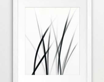 Abstract Art Printable File, Abstract Grey Black And White - Modern Minimalist Wall Art Home Office Decor Digital Print Instant Download Art