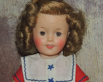 Ideal SHIRLEY TEMPLE Doll ST-12 in Original Outfit