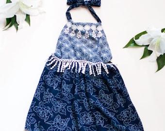 Flowy Halter Dress - Toddler