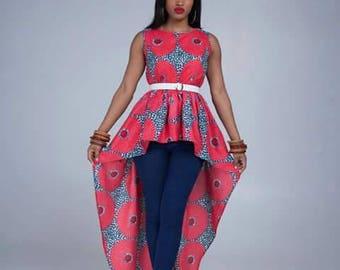 Sandi Magla High-Low dress