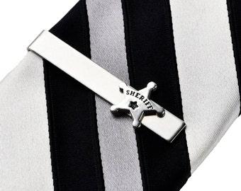 Sheriff Tie Clip