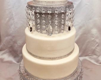 Cake Stand Cupcake Stand Wedding Cake Stand Gold Cake Stand Wedding Centerpiece Cake Plate Rustic Wedding 21st Birthday Silver Anniversary