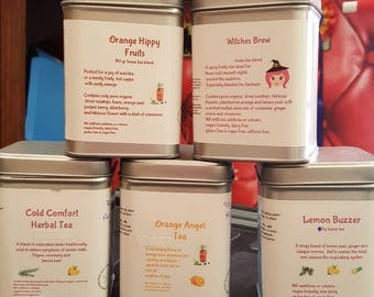 Orange Hippy Organic Herb Tea Blend