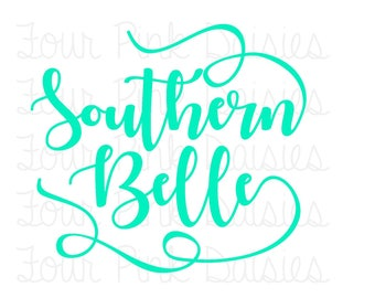 Southern Belle Vinyl Decal