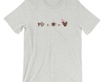 mesa de trabajo - de trabajo shirt - trabajos en madera - me and coffee - coffee - funny coffee shirt - me - coffee lover - coffee design