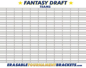 fantasy football draft board template - fantasy football draft board template image collections