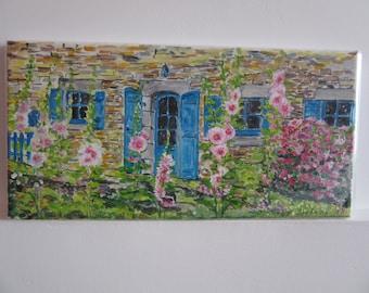 Acrylic floral House