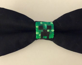 Minecraft Creeper Clip-On Bowtie **FREE SHIPPING** within United States