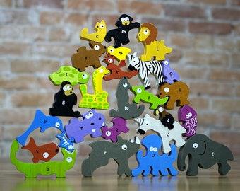 Animal Alphabet Puzzle