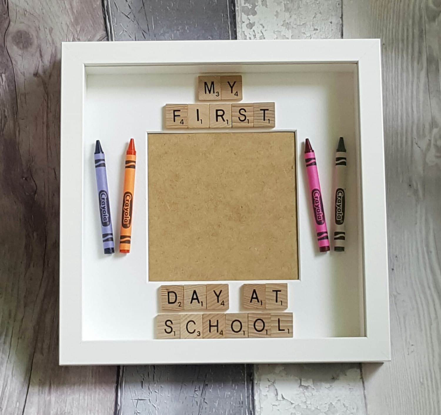 First Day At School Photo Frame, My First Day At Nursery, Photo ...