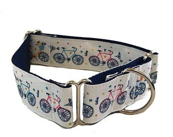 "1.5"" Bicycle Big Dog Collar Buckle or Martingale"