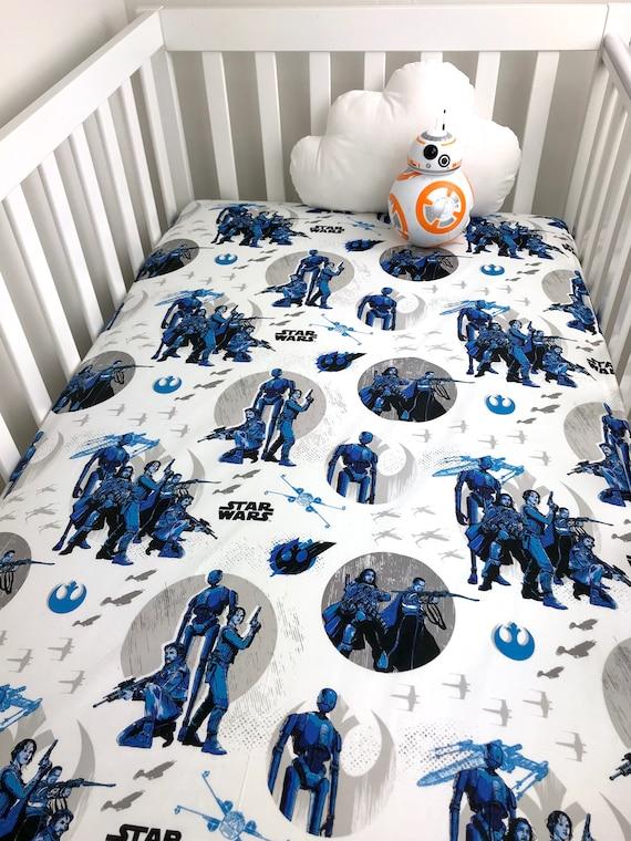 Star Wars Crib Sheet Stars Wars Baby Sheet Star Wars Crib