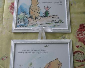 Classic Winnie the Pooh Framed Prints in 8x10