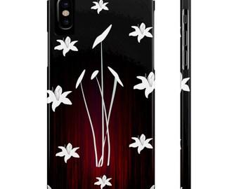 IPhone Slim Case | Retro Floral Design, iphone cases, iphone 6 cases, phone cases, iphone 5 cases, iphone 7 cases, iphone accessories