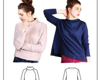 The Toaster Sweaters Pattern by Sew House Seven