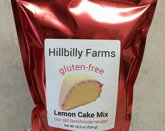 Gluten Free Lemon Cake Mix
