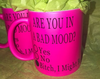 Bad Mood Coffee Mug