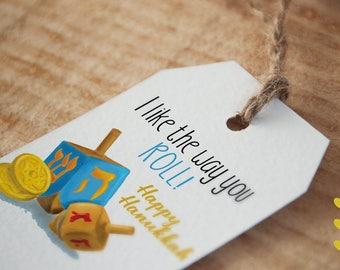 I Like the Way You Roll! - Hanukkah Tag