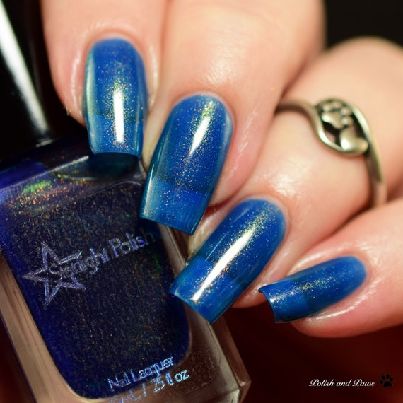 Dragon Kyanite Blue Duochrome Color Shifting Gold to Green Indie ...