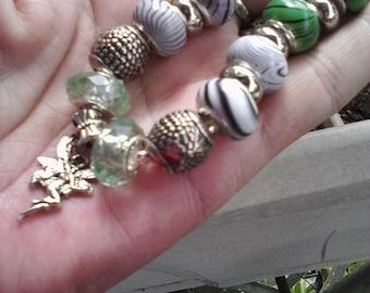 Fay in the Grape Arbor, Euro style bracelet