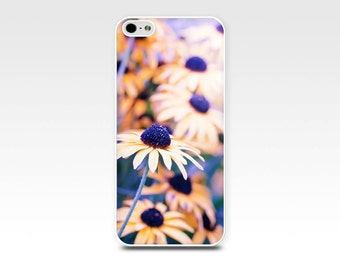 floral iphone case iphone case 4 4s 5 5s 6 yellow purple daisies autumn fall photography fine art iphone case daisy nature botanical iphone
