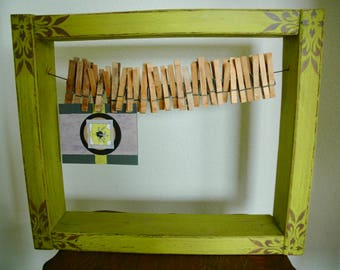 """Art Assemblage  - Wall or Tabletop Decor - """"Pin It!"""""""